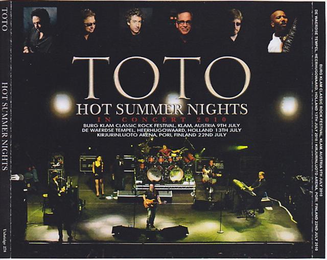 TOTO / Hot Summer Nights / 5CDR – GiGinJapan