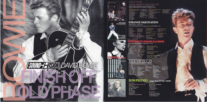Madison Square Garden: David Bowie / Finish Off Old Phase / 2CD