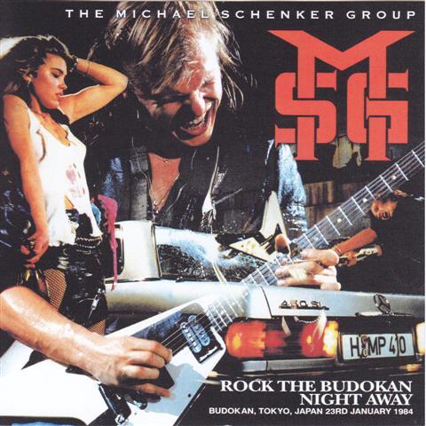 michael schenker group Budokan Tokyo 23th January 1984 - Guitars101