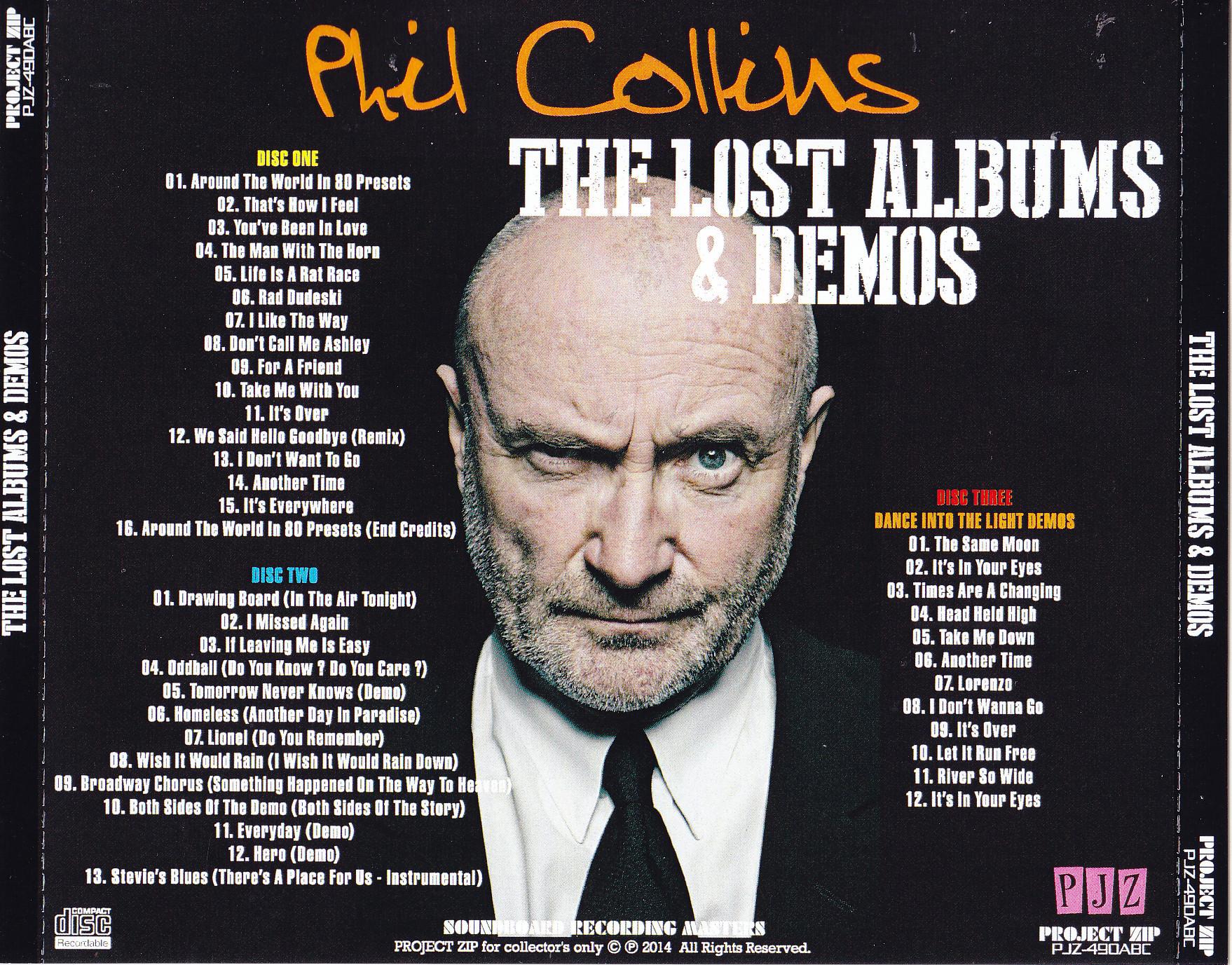 Phil collins rat race