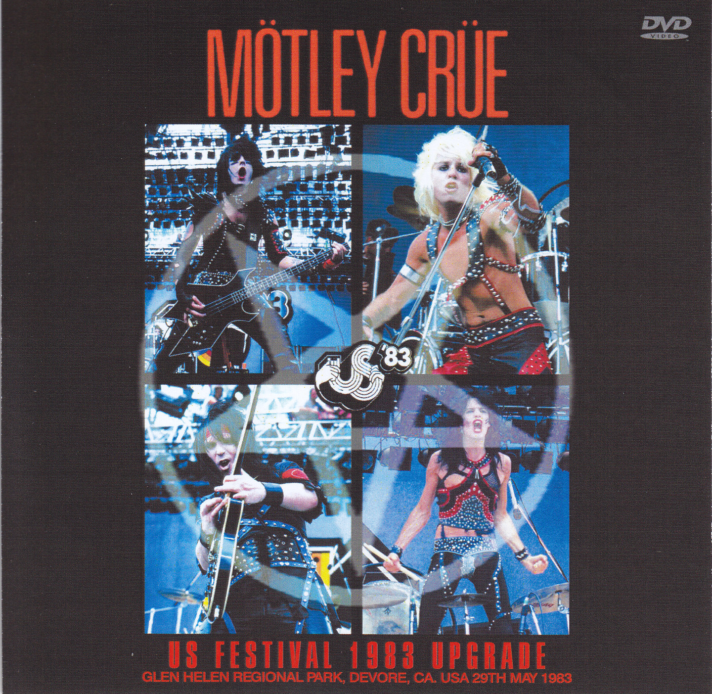 Motley Crue / US Festival 1983 Upgrade / 1DVDR – GiGinJapan