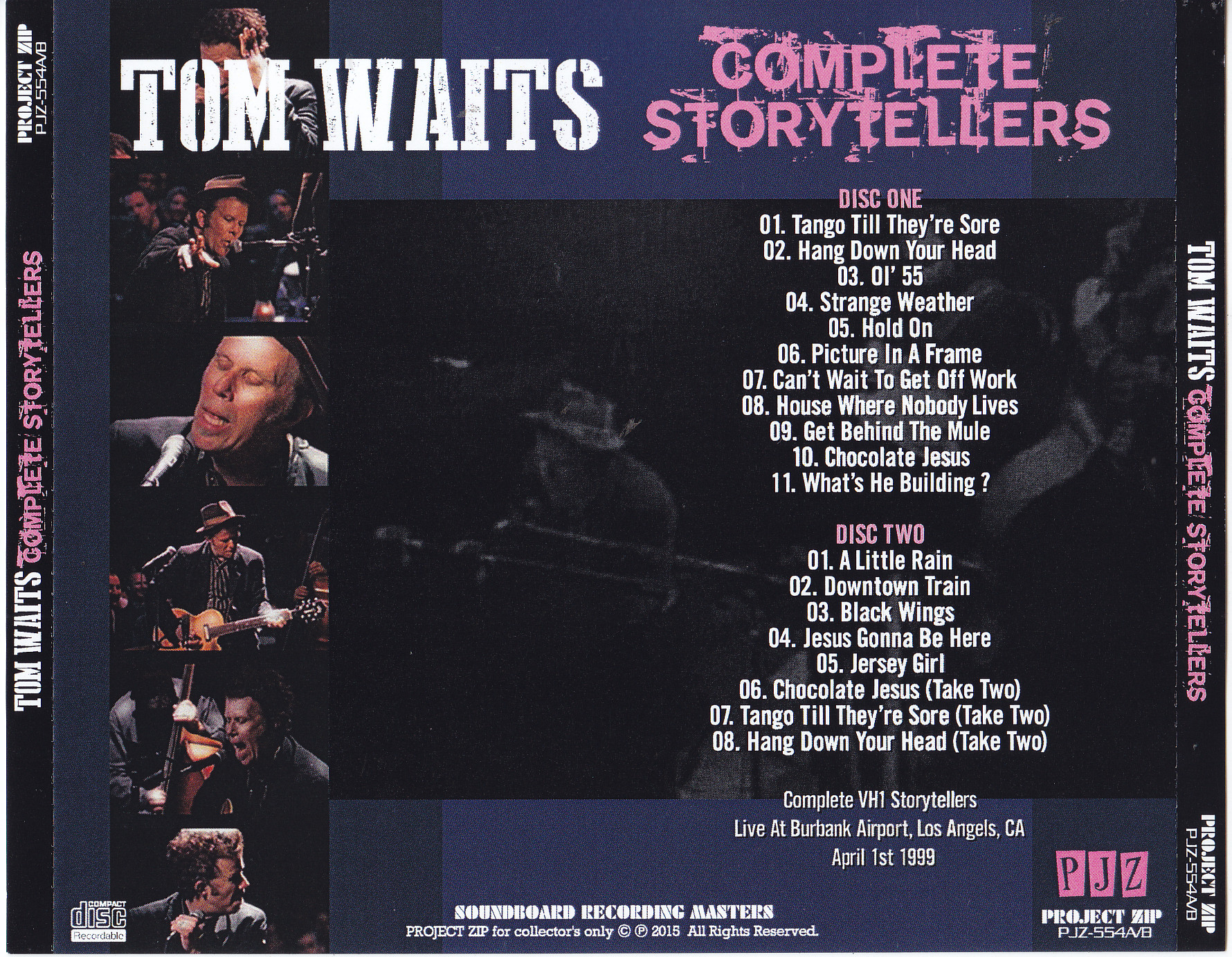 Tom Waits / Complete Storytellers / 2CDR – GiGinJapan