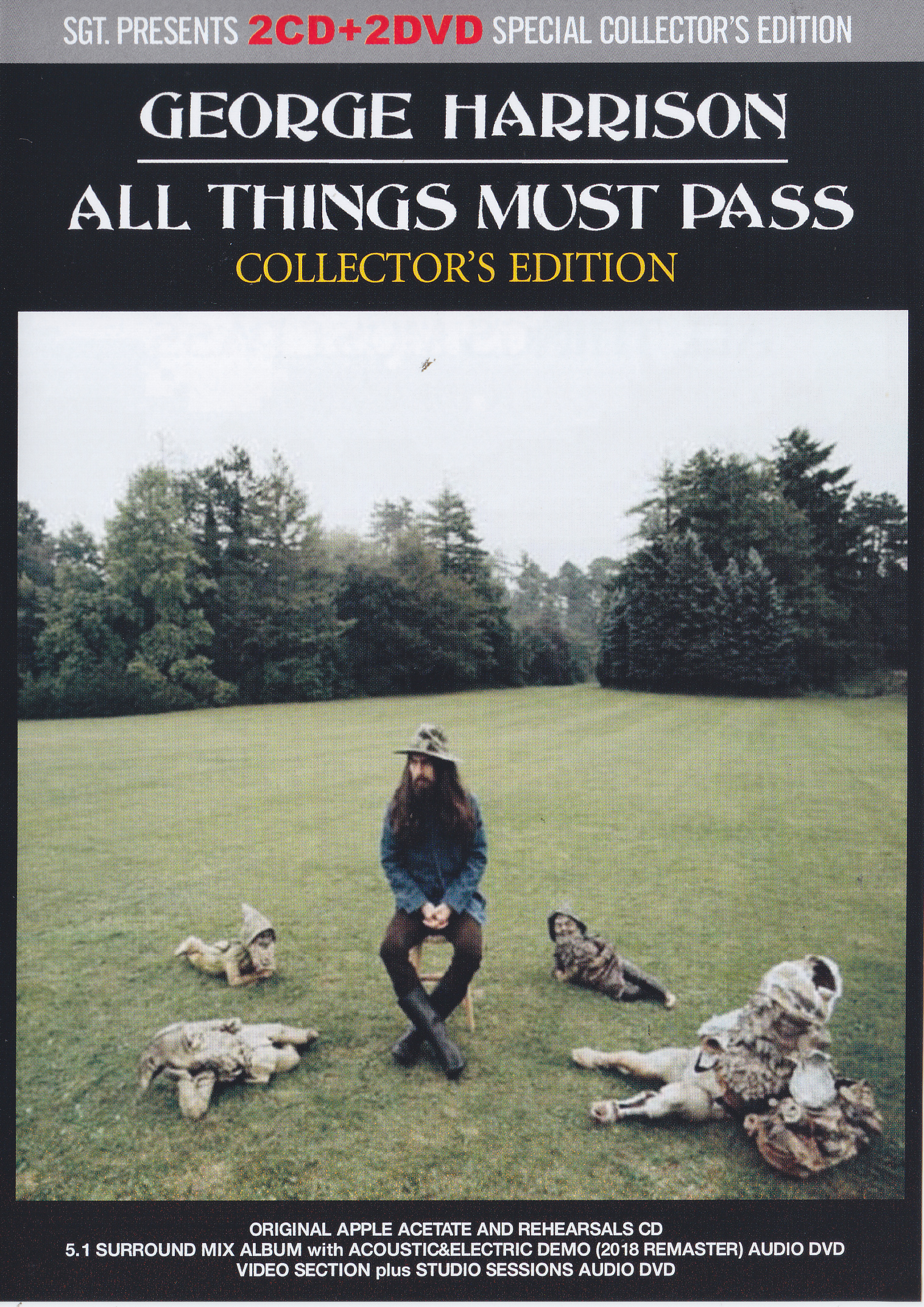 George Harrison All Things Must Pass Collectors Edition 2CD 2DVD