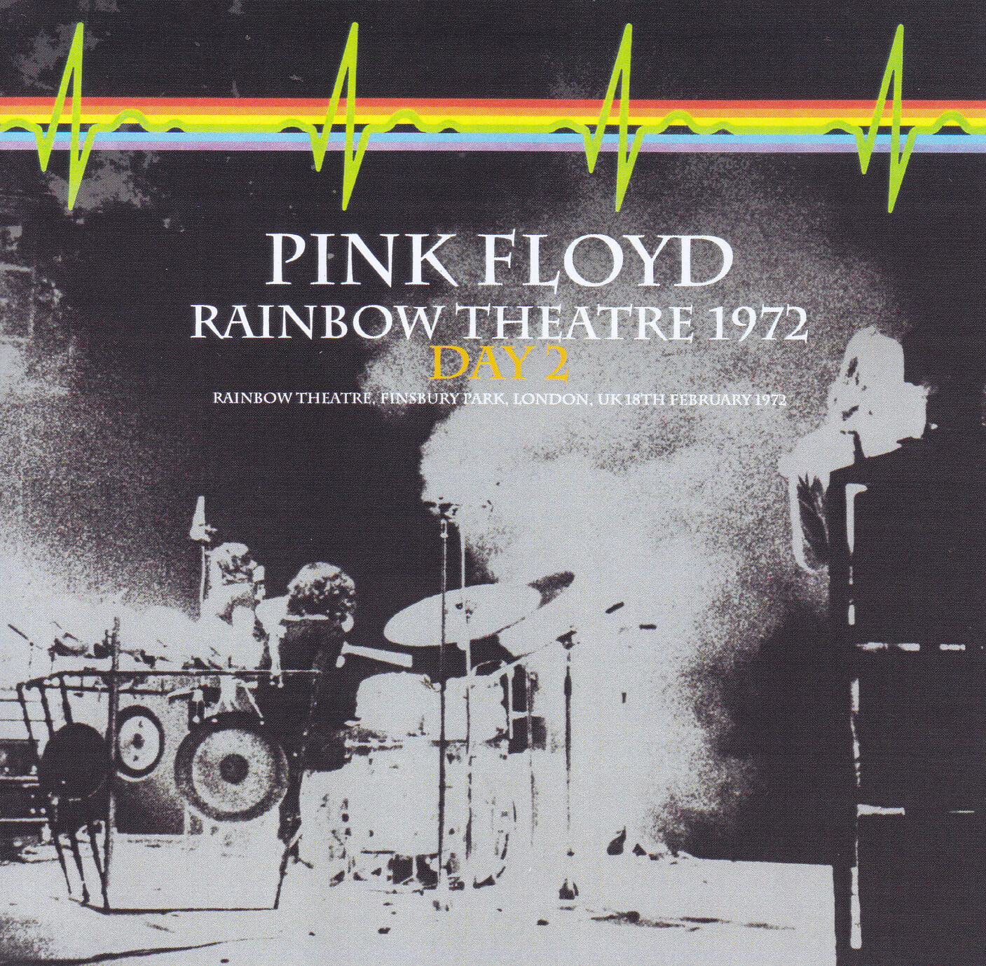 Poster Pink Floid Rainbow Theatre