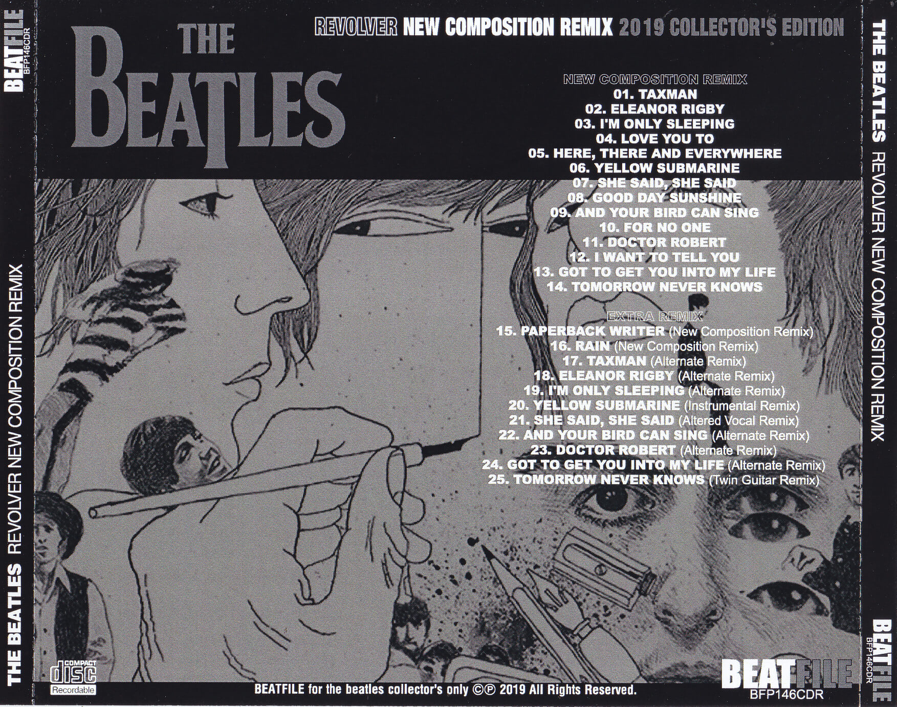 Beatles / Revolver New Composition Remix / 1CDR – GiGinJapan